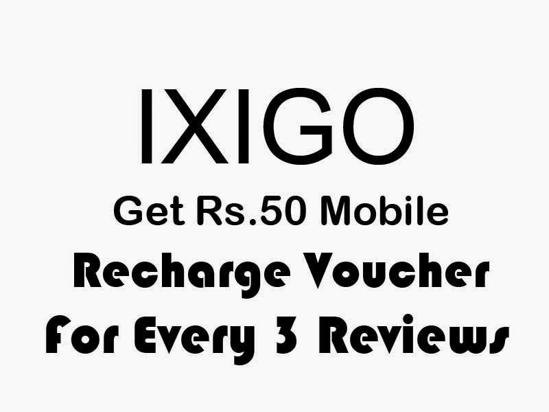 Ixigo Free Recharge Online