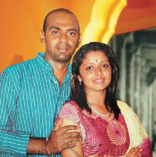 Shelly/Shalini with husband photo