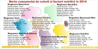 În ce regiune se mănâncă cel mai mult