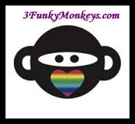 Three Funky Monkeys