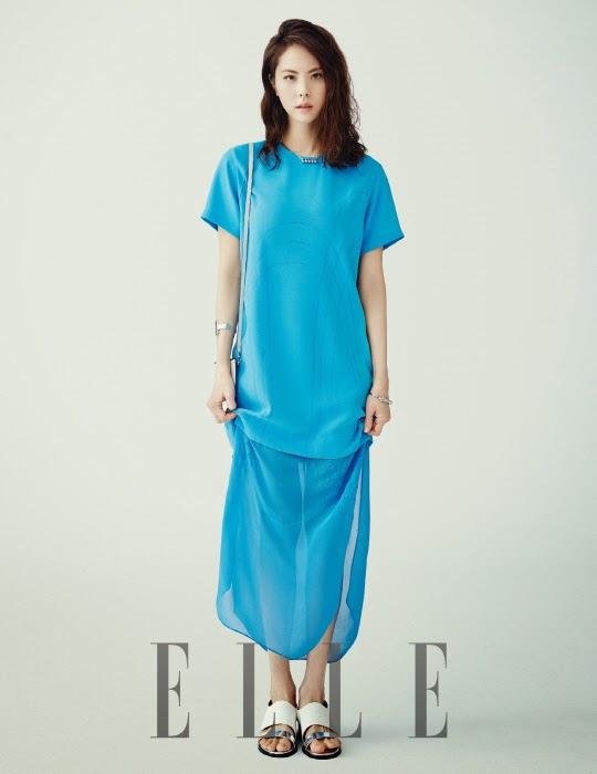 Park Ji Yoon - Elle May 2014