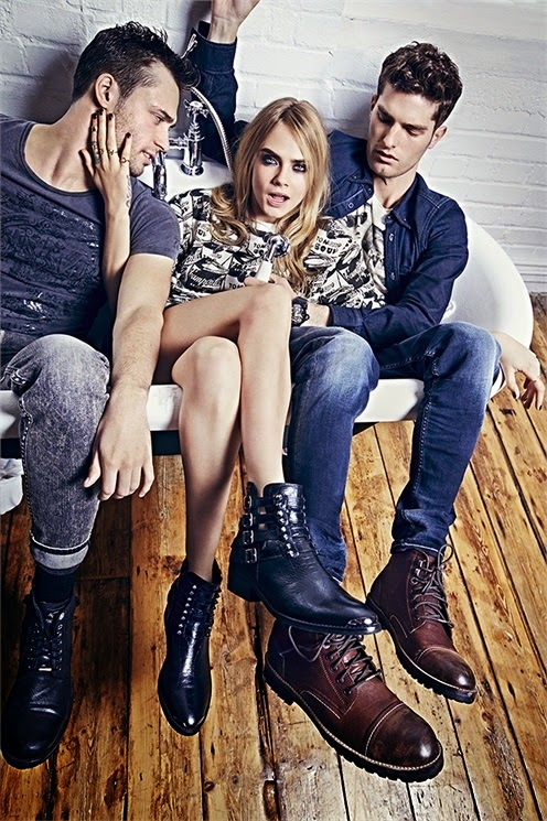 Cara Delevingne - Pepe Jeans London Fall/Winter 2014 Campaign