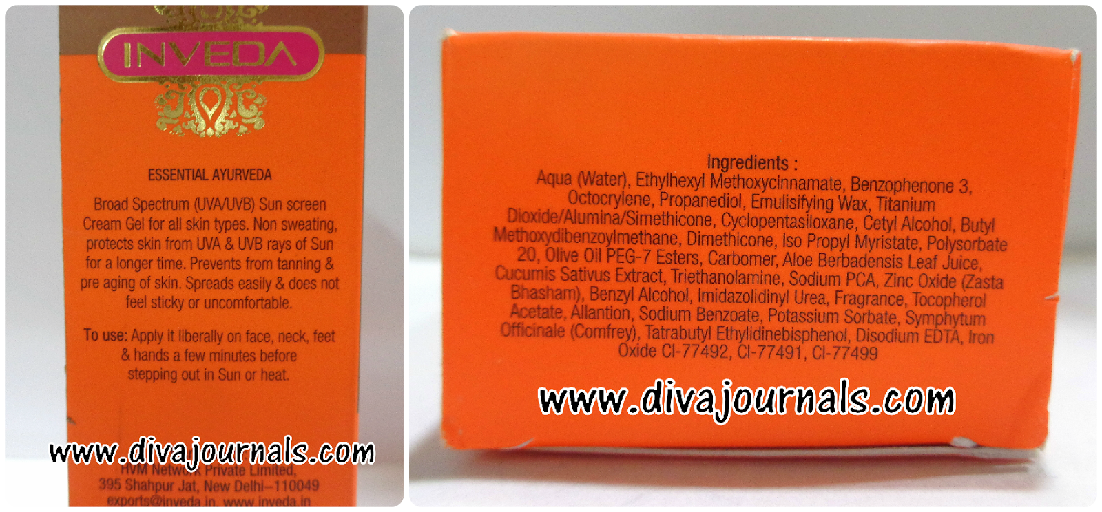 Inveda Sunscreen Cream Gel SPF 50 Review