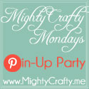 MightyCrafty Mondays Pin-Up Party at www.MightyCrafty.me