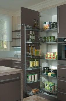 Mobiliario de cocina equipamiento interior - Mobiliario de cocinas ...