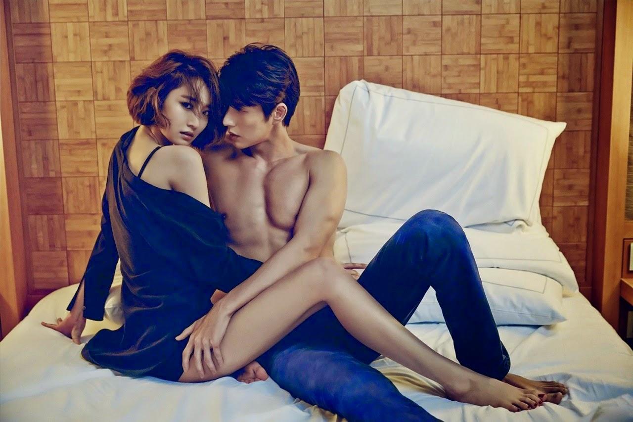 Go Joon Hee Park Hae Jin Calvin Klein CF