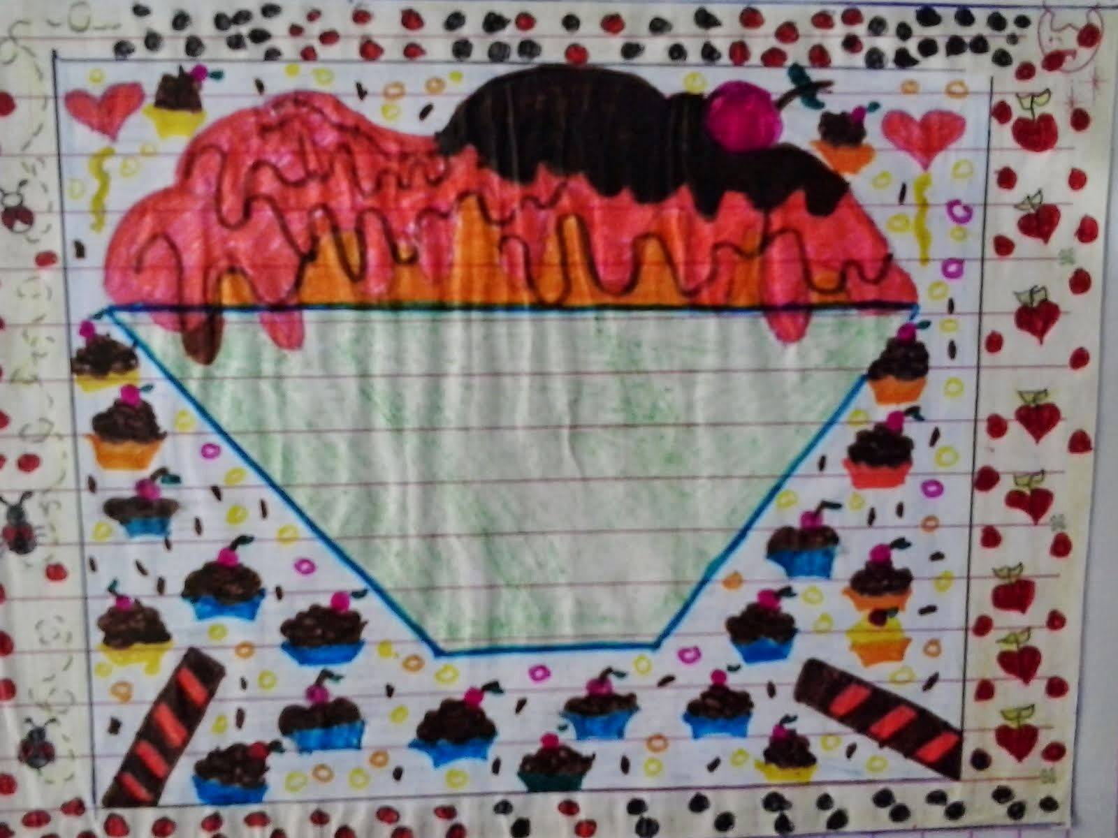 Desenho de alunos ...