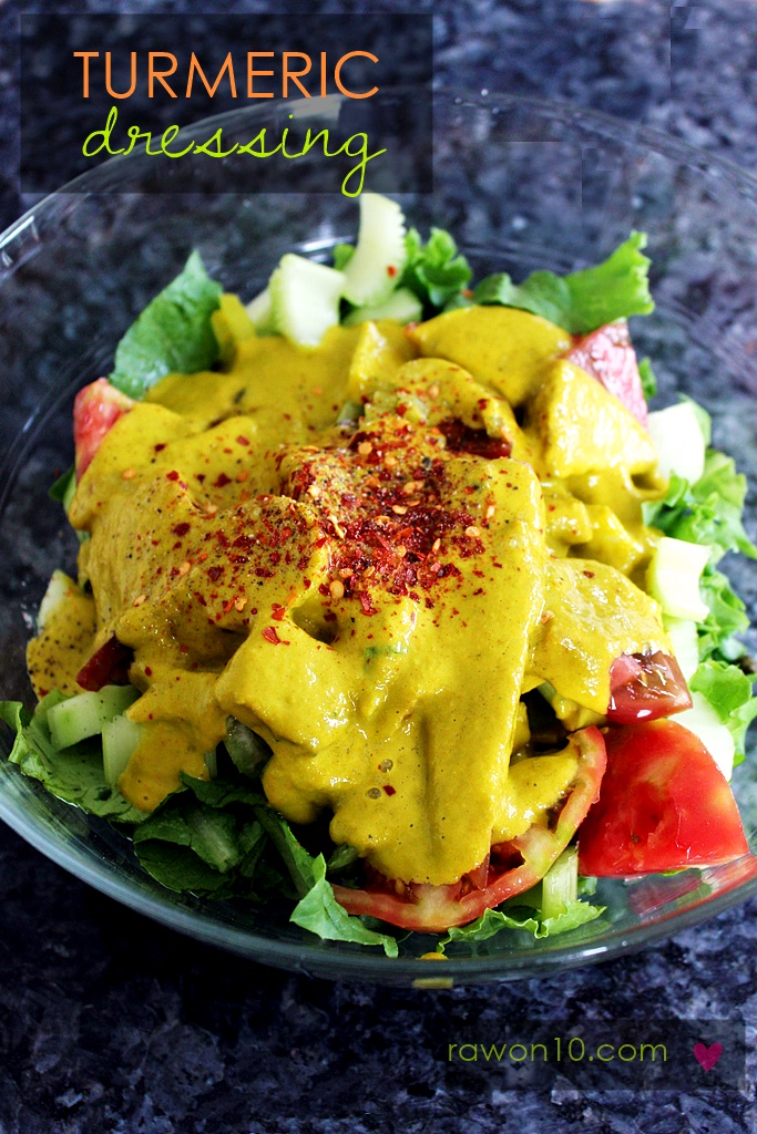 Raw on 10 a day or less turmeric dressing raw food recipe turmeric dressing raw food recipe forumfinder Choice Image