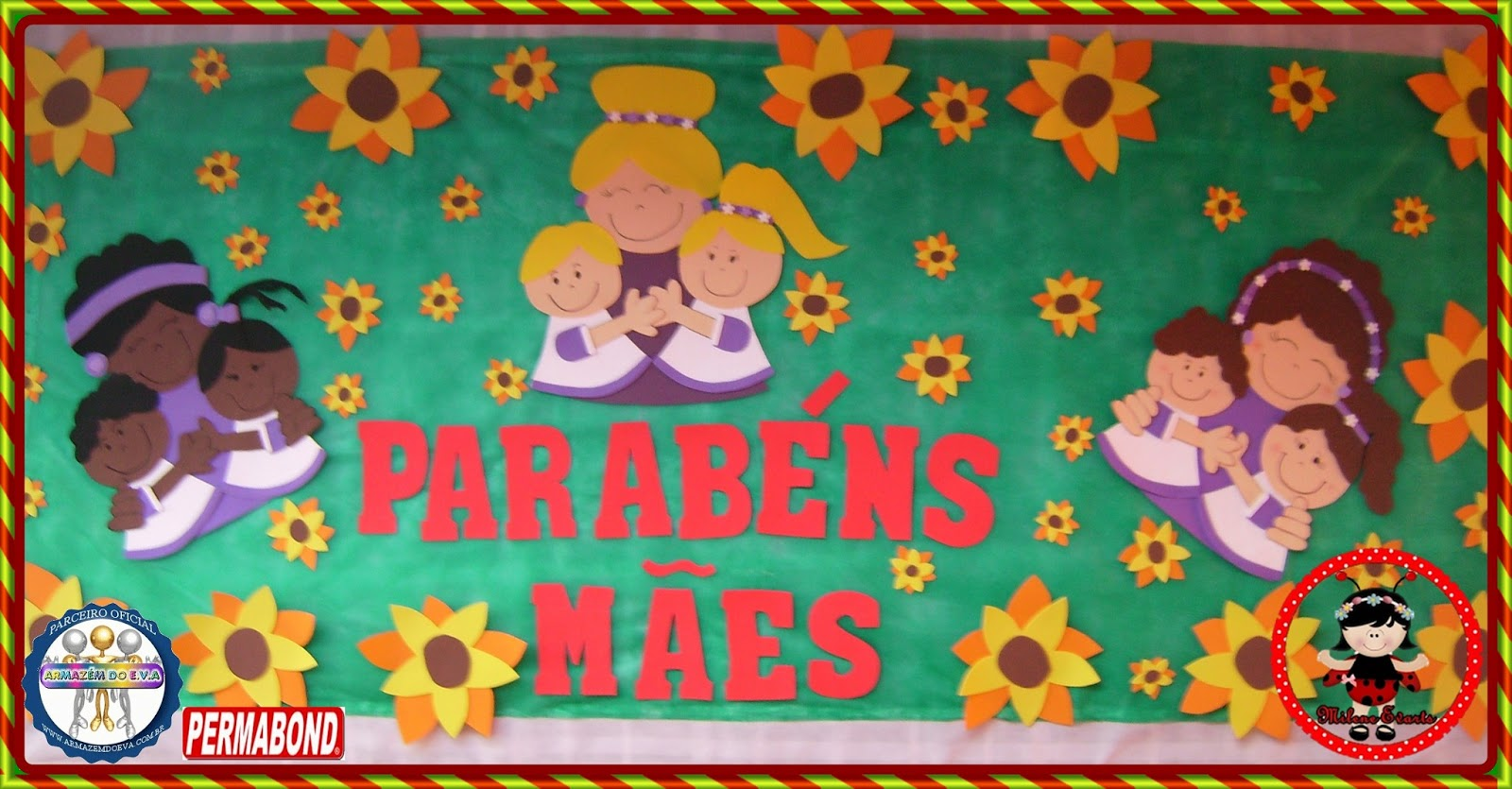 Milene Evartes Painel Dia Das Mães