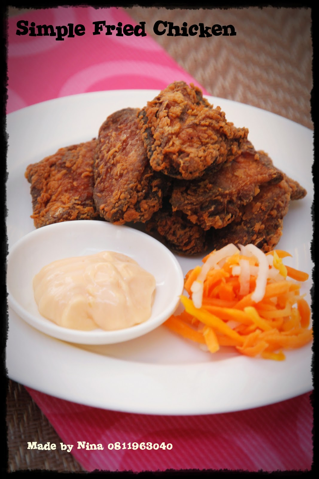 Simple Fried Chicken Recipe — Dishmaps