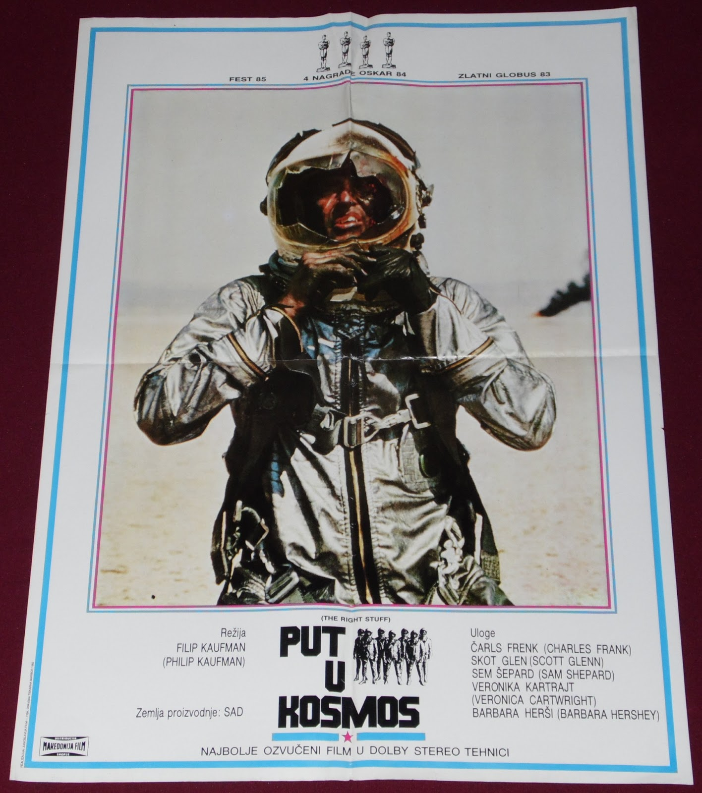 yugorare movie posters the right stuff 1983