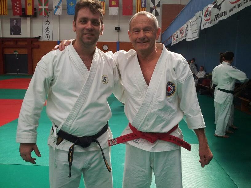 Mr: Hanshi Charlie Lenz 8º Dan Ju Jutsu, 5ºDan Ko Budo Okinawa.