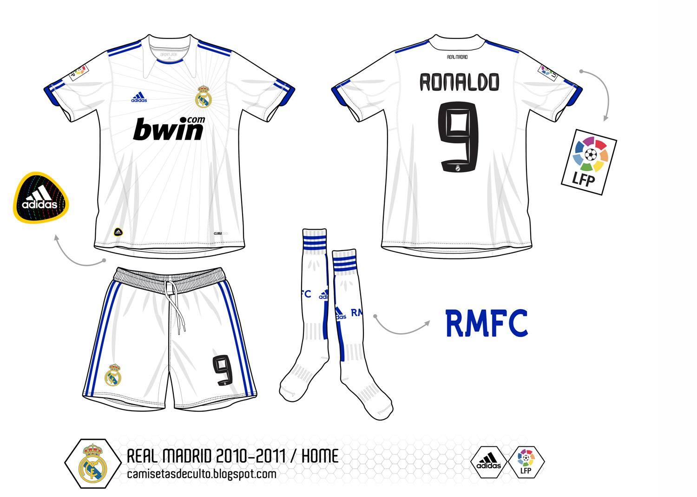 Fotos Del Uniforme De Real Madrid
