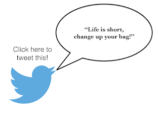 Life is short, change up your bag - Hello, Handbag