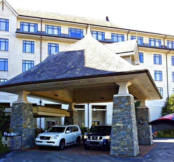 Inn at Bilmore. On property of estate in Asheville