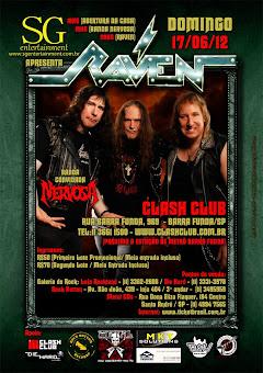 Raven Brazil Tour 2012