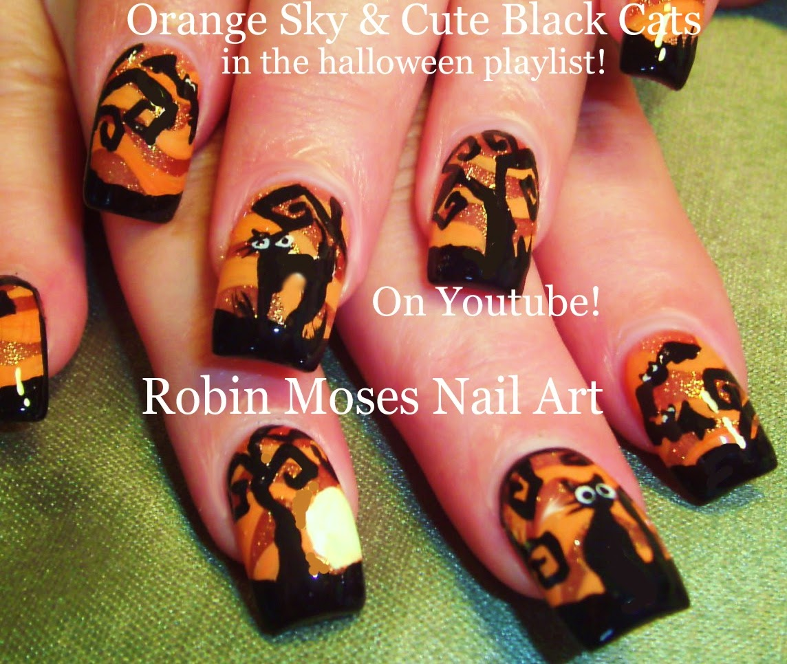 "Robin Moses Nail Art February 2015: Robin Moses Nail Art: ""halloween Nails"" ""halloween Nail"