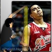 LA Tenorio Height - How Tall