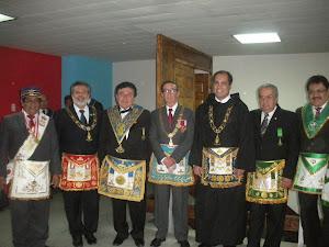 GRAN ORIENTE DEL PERU CON DIGNIDADES  DE GRANDES POTENCIAS