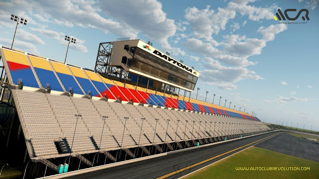 Circuito de daytona para auto club revolution