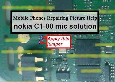 Nokia C1-00 mic solution