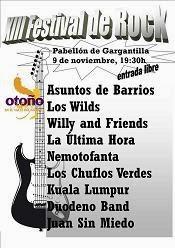 """XIII FESTIVAL ROCK """"OTOÑO MÁGICO"""""""