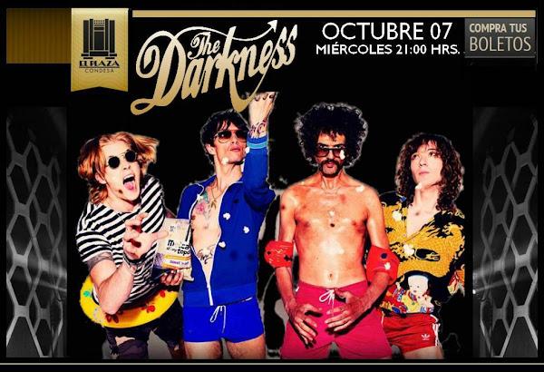 En unos días en nuestro país THE DARKNESS con Rufus Taylor en El Plaza Condesa Ticketmaster