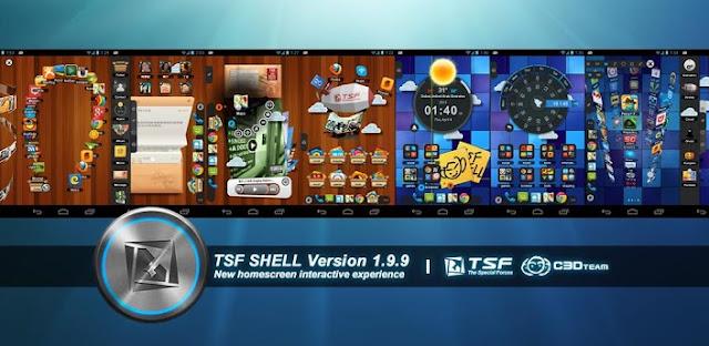 TSF Shell 1.9.9.7.2 ( v1.9.9.7.2 ) APK