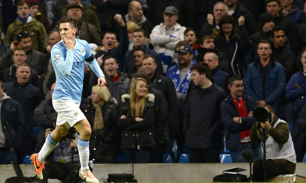 Negredo out for a few months, City to keep Jovetic