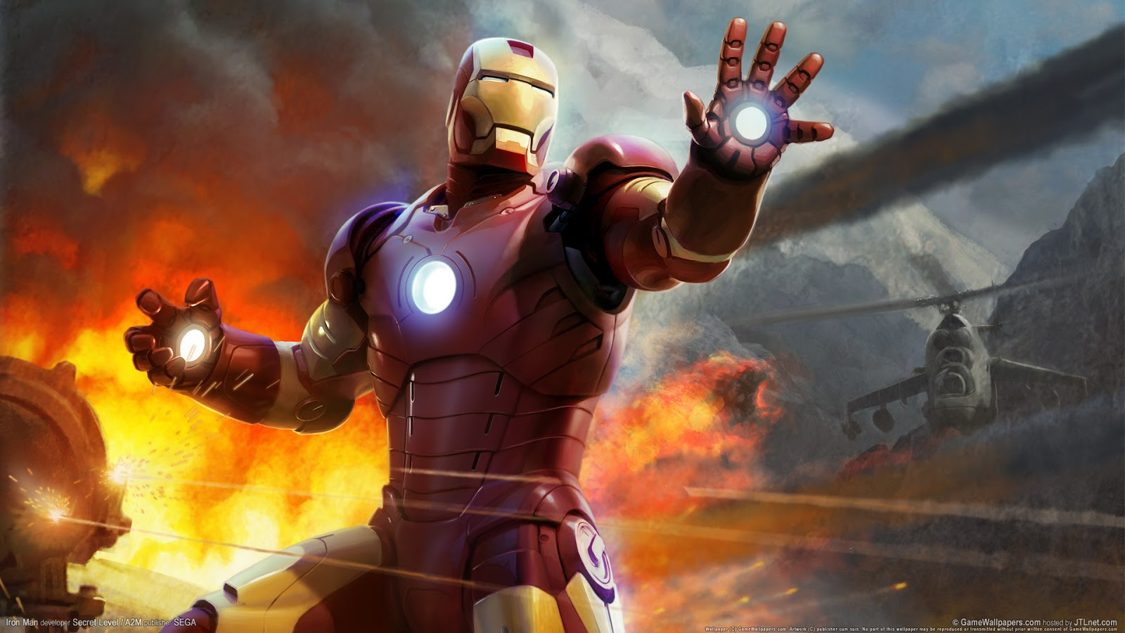 Iron Man HD Game Wallpaper