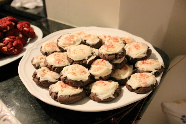 A Holiday Cookies Recipe | Something Good, cookies, holiday cookies, peppermint frosting, christmas cookies