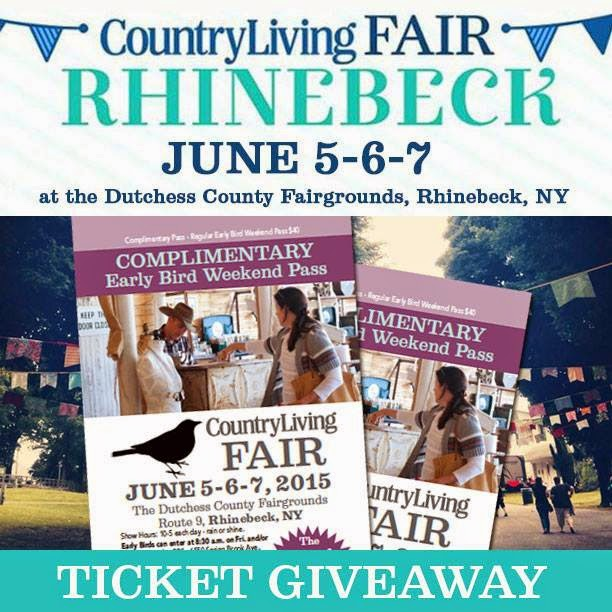 Country Living fair Rhinebeck NY and a giveaway www.homeroad.net
