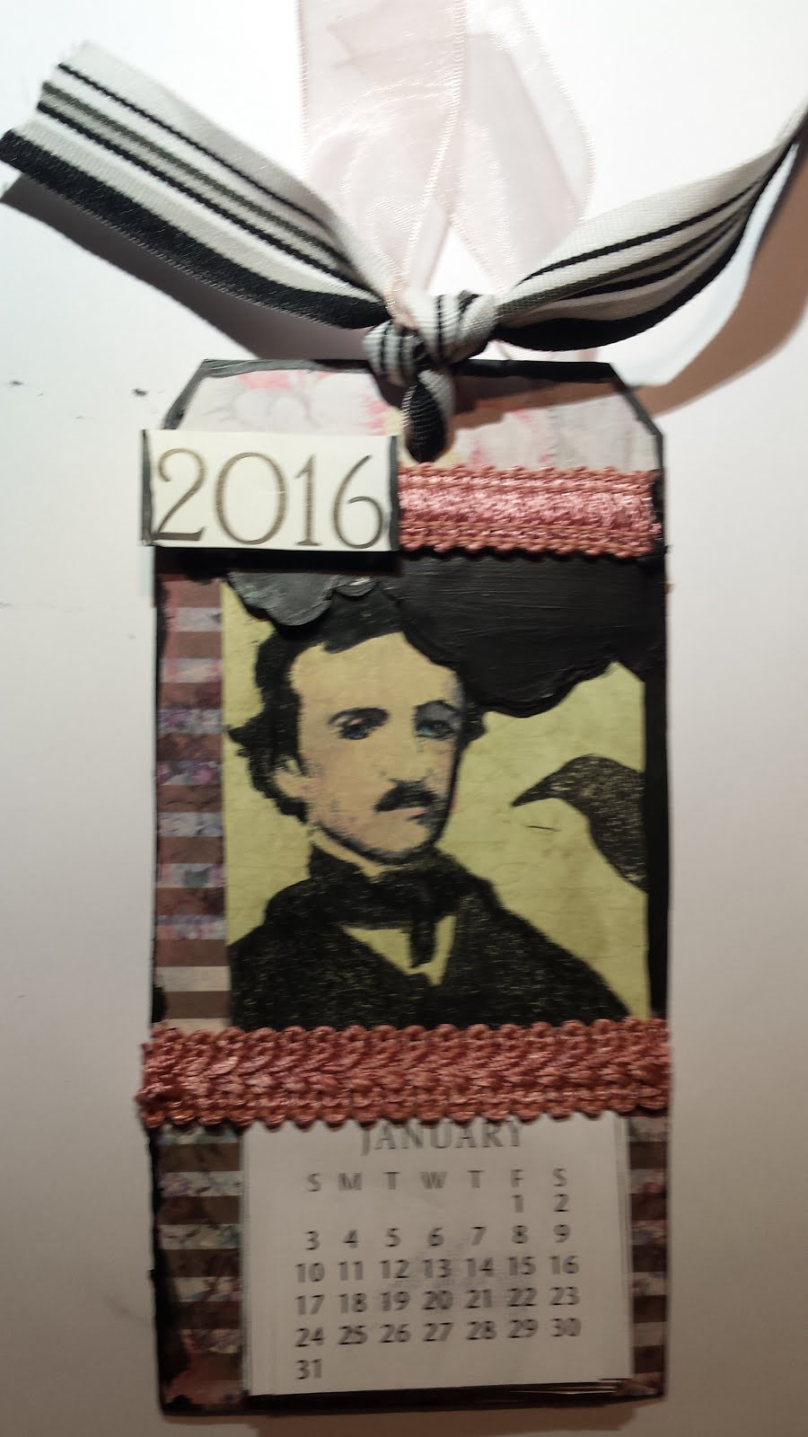 Poe Quote The Raven 2016 January Challenge
