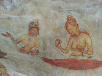 Sigiriya mystery, what were beautiful ancient Ladies – princesses, dancers or priestesses? world cultural heritage, interesting place