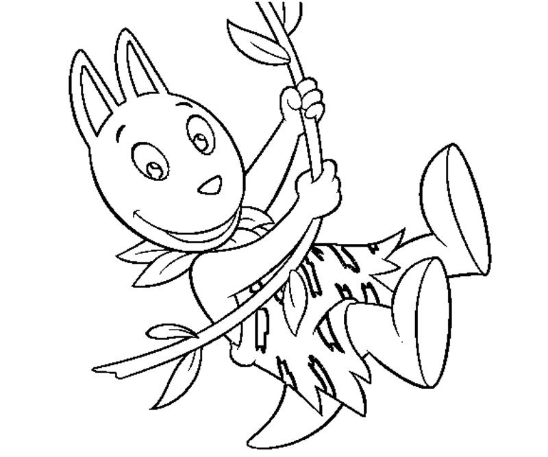 backyardigans coloring pages austin - photo#5