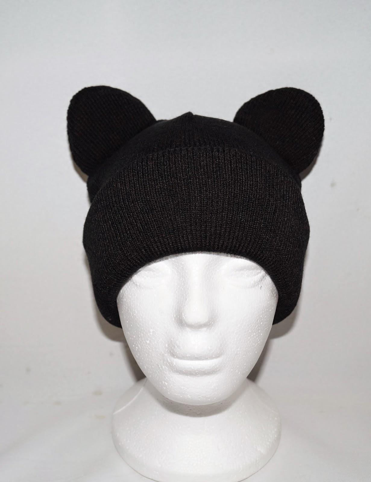 Cat Ear Beanie Pattern Sew