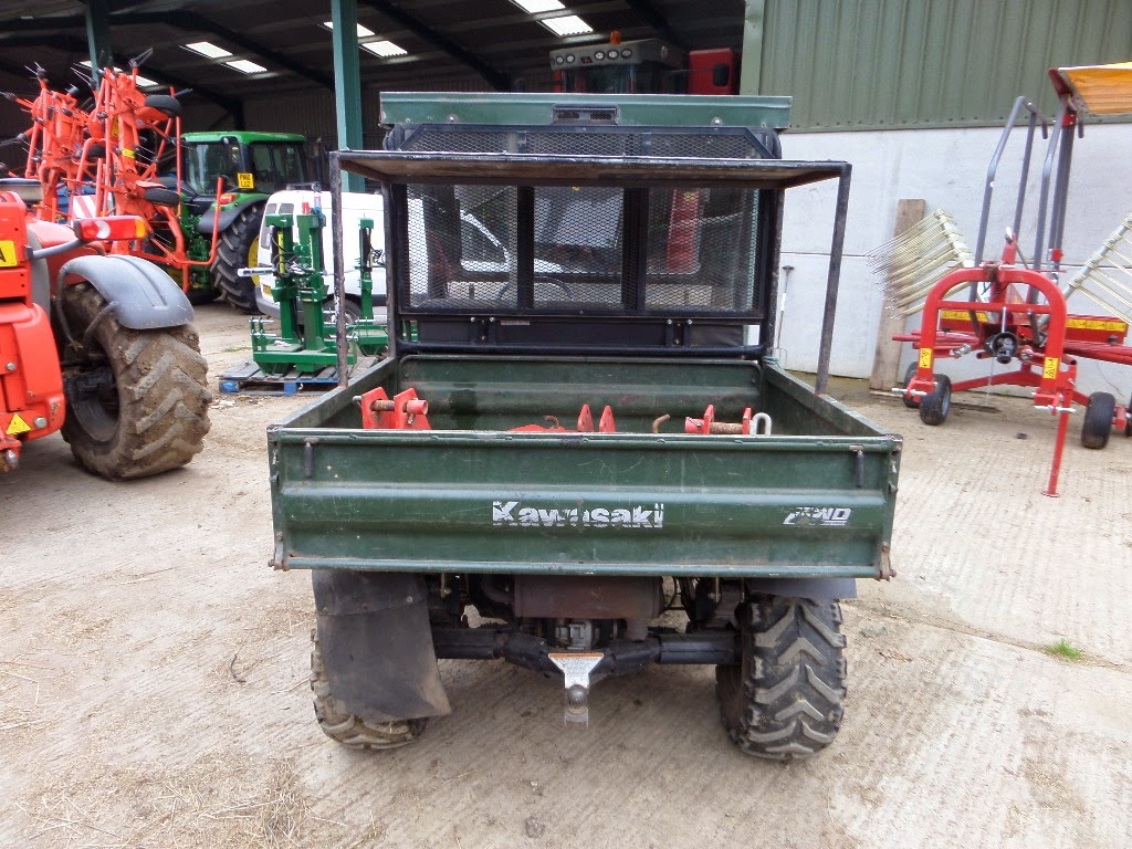 Mule Tow Tractor : Used tractors machinery and plant kawasaki mule diesel