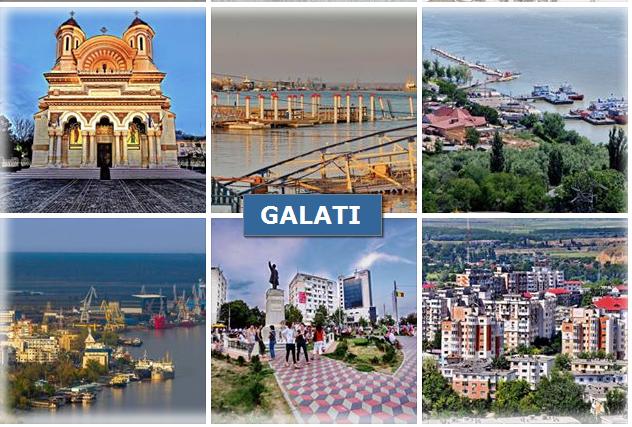 GALATI - om den rumenske storbyen på engelsk