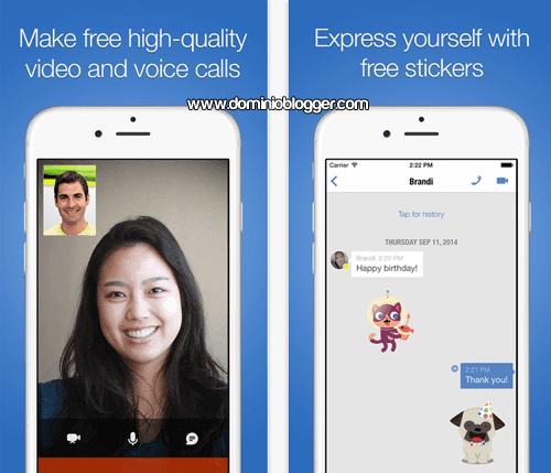 Videollamadas y mensajes gratis con Imo para iOS