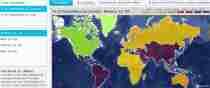 7 mil millones de personas en un mapa de Google Maps