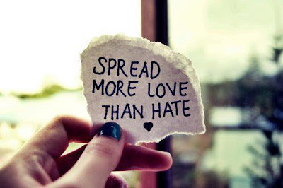 Quotes About Love Versus Hate : ... hate the people who hate me... Im too busy loving the people who love