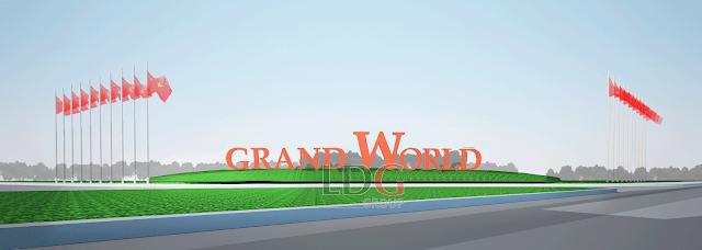 Cổng chào của Grand world