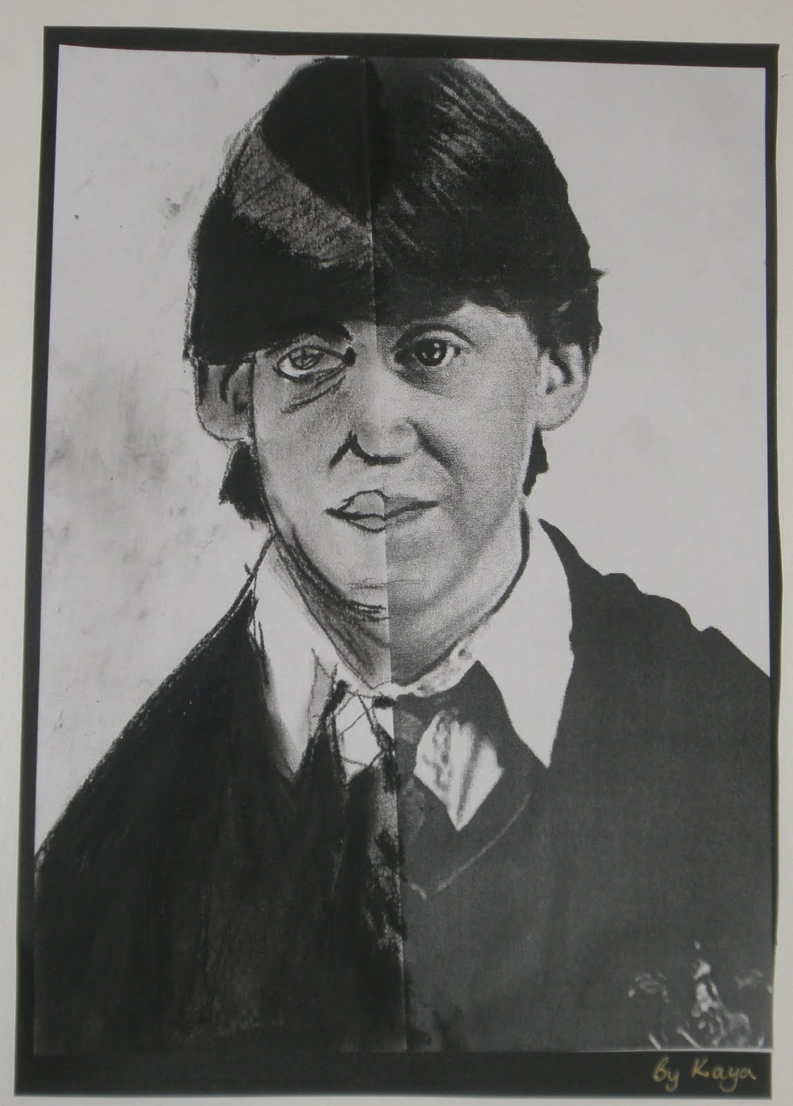 how to draw harry potter realistic