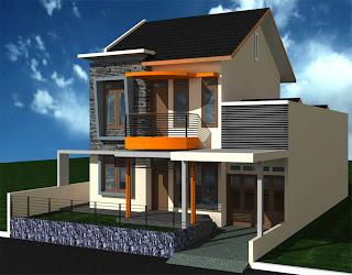 design rumah minimalis 2 lantai type 36
