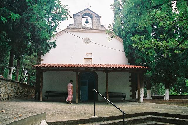 Ο ιερός ναός της Μεταμόρφωσης του Σωτήρα στη Γαβαλιώτισσα