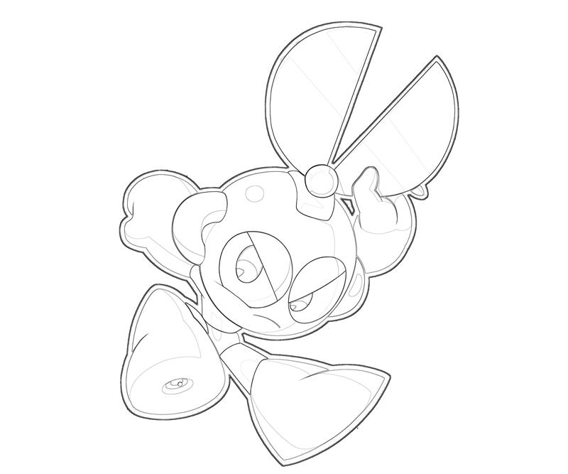 cutman-cute-coloring-pages