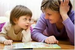 anak belajar Berbicara