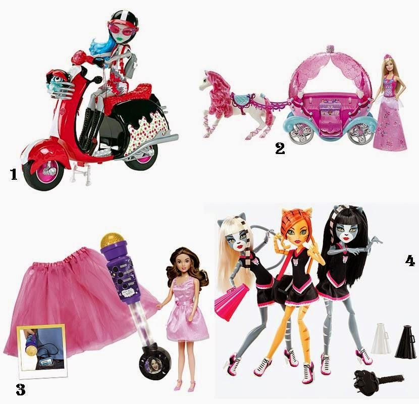 Muñecas Toysrus Navidad 2014