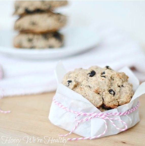 Honey We're Healthy: Blueberry Almond Scones (The Chronicles of Home)