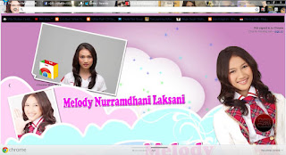 Download Tema Google Chrome JKT48 Terbaru